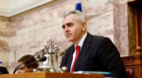 Χαρακόπουλος: Και οι καπνοπαραγωγοί χρειάζονται στήριξη