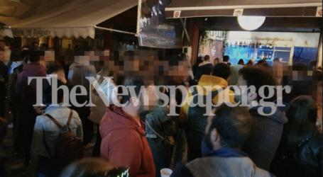 Βόλος: «Μάχη»για ένα ποτό στα Παλιά – Η πρώτη νύχτα μετά την καραντίνα [εικόνες]
