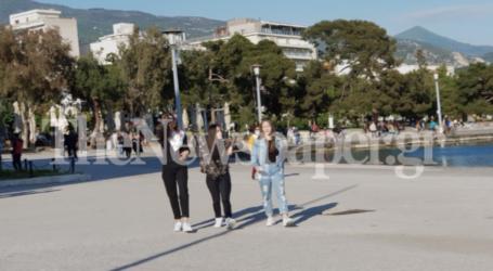 Καραντίνα τέλος – Η πρώτη «ελεύθερη» βόλτα στην παραλία για χιλιάδες Βολιώτες [εικόνες]