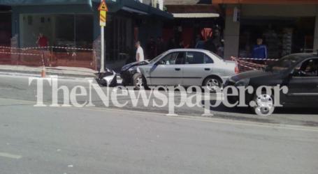 ΤΩΡΑ: Τροχαίο ατύχημα στον Βόλο – Δείτε εικόνες