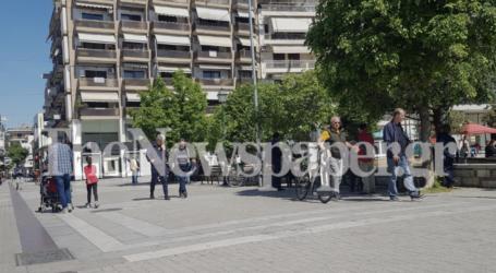 «Μουδιασμένο» Σάββατο στον Βόλο: Ελάχιστοι κυκλοφορούν στους δρόμους της πόλης [εικόνες]
