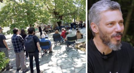 Σταγιάτες: Μαζική συνέλευση κατοίκων με μπροστάρη τον Αλκίνοο Ιωαννίδη – Δείτε εικόνες