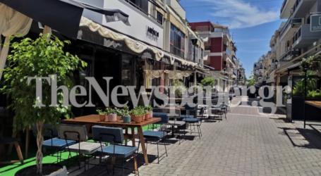 Βόλος: Τραπεζάκια έξω – Πρόβα τζενεράλε για τις καφετέριες [φωτορεπορτάζ]