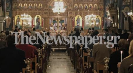 Βόλος: Εψάλη το «Χριστός Ανέστη» στις εκκλησίες παρουσία πλήθους κόσμου – Δείτε εικόνες και βίντεο