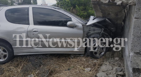 Βόλος: Σοβαρό τροχαίο ατύχημα – Δείτε εικόνες
