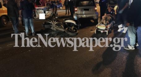 Βόλος: Σοβαρό τροχαίο ατύχημα στην Λεωφόρο Αθηνών – Στο Νοσοκομείο οι τραυματίες [εικόνες]