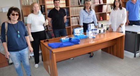Ιατρικό υλικό για την προστασία μαθητών παρέδωσε η αντιδημαρχία Πολιτικής Προστασίας του Δήμου Κιλελέρ στις διευθύνσεις σχολείων