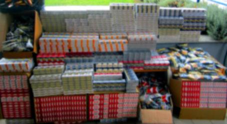 Λάρισα: Τον συνέλαβαν με περισσότερα από 5.500 πακέτα αφορολόγητων τσιγάρων στην κατοχή του