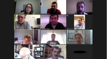 Τηλεδιάσκεψη Βουλευτών του ΣΥΡΙΖΑ με τους Δημάρχους των νησιών των Βορείων Σποράδων