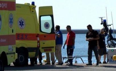 ΤΩΡΑ: 74χρονος από τη Σκιάθο διακομίστηκε στον Βόλο μετά από ατύχημα
