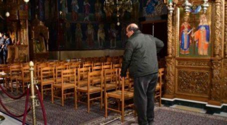 Άνοιξαν για ατομική προσευχή οι εκκλησίες του Βόλου – Συγκίνηση για τους πιστούς