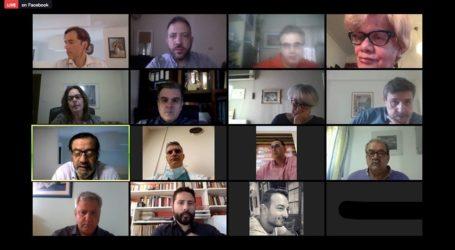 Τηλεδιάσκεψη του Ανδρέα Ξανθού, και Βουλευτών Μαγνησίας του ΣΥΡΙΖΑ με εκπροσώπους των υγειονομικών φορεων της Μαγνησίας