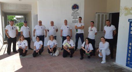 Βόλος: Νέα εκπαίδευση των μελών της Ελληνικής Ομάδας Διάσωσης