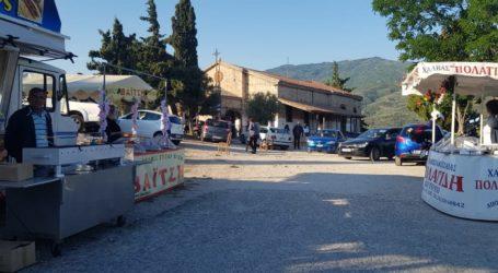 Βόλος: Πλήθος επισκεπτών και σήμερα στο πανηγύρι της Ζωοδόχου Πηγής στη Γορίτσα – Δείτε εικόνες