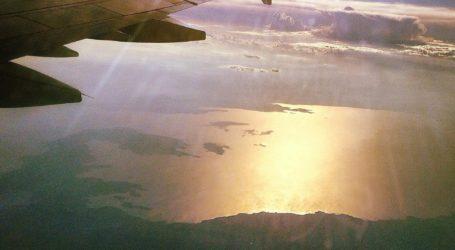 Απίστευτες εικόνες: Δείτε τον Βόλο και το Πήλιο από τα 25.000 πόδια ενός αεροπλάνου