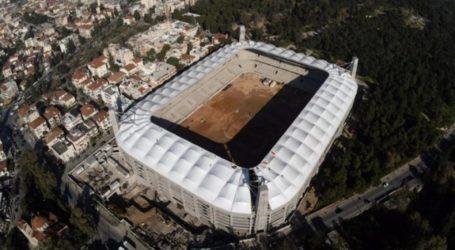 Η πρώτη πλάκα στο γήπεδο – Ποδόσφαιρο – Super League 1 – A.E.K.