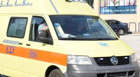 Λάρισα: Στο νοσοκομείο μεταφέρθηκε άντρας που έκανε λήψη μεγάλης ποσότητας χαπιών μαζί με αλκοόλ