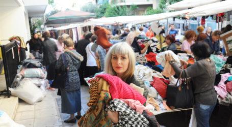 Βόλος: Ξεκίνησαν από σήμερα οι λαϊκές αγορές ρούχων με… αποστάσεις