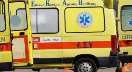 Βόλος: Εργατικό ατύχημα στο Καρνάγιο – Στο Νοσοκομείο ένας τραυματίας