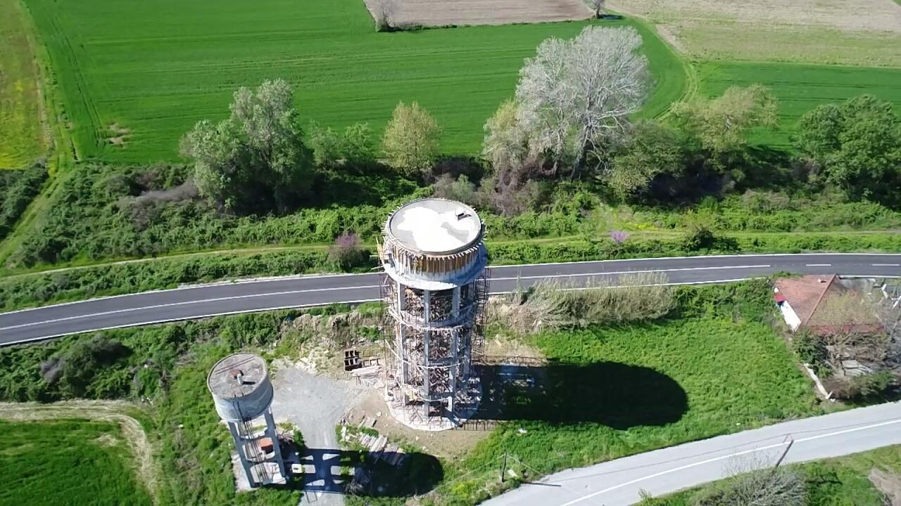 Νέο υδατόπυργο στον Παλαιόπυργο κατασκευάζει η Περιφέρεια Θεσσαλίας