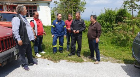 Θερινό Πυροσβεστικό κλιμάκιο στον Δήμο Ζαγοράς – Μουρεσίου