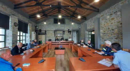 Δήμος Τεμπών: Σύσκεψη ενόψει της νέας αντιπυρικής περιόδου στο Μακρυχώρι