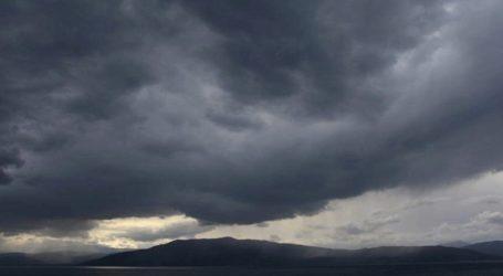 Πρόσκαιρη μεταβολή του καιρού με τοπικές βροχές και μικρή πτώση της θερμοκρασίας