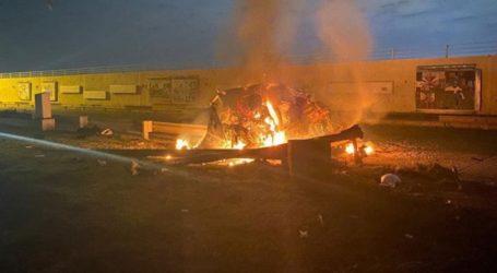 Ρουκέτες έπεσαν στην περιοχή του αεροδρομίου της Βαγδάτης
