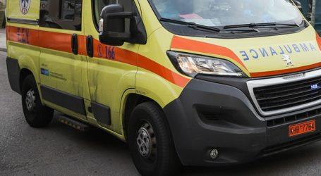 Ελαφρά τραυματίστηκε 4χρονη μετά από πτώση καγκελόπορτας