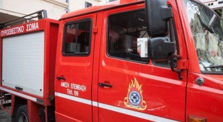 Μεγάλη φωτιά σε εργοστάσιο στο Ηράκλειο Κρήτης
