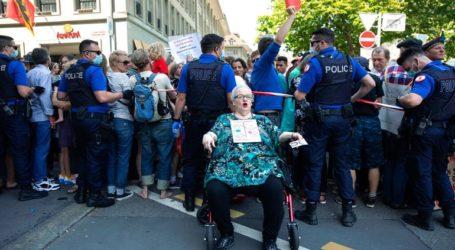 Ελβετία: Διαδηλώσεις κατά της καραντίνας