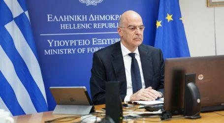 Επικοινωνία Δένδια με τον υπουργό Εξωτερικών της Μάλτας
