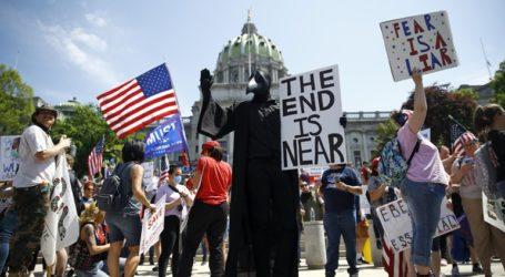 Νέα διαδήλωση στην Πενσιλβάνια εναντίον των περιοριστικών μέτρων