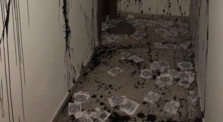 Επίθεση με μαύρες μπογιές σε γραφείο βουλευτή της ΝΔ στη Θεσσαλονίκη