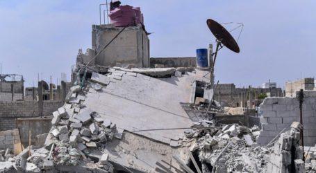 Δύο νεκροί στον βομβαρδισμό καταφυγίου εκτοπισμένων