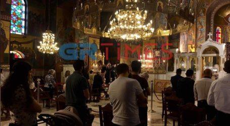 Θεσσαλονίκη: Πιστοί… και στον κορωνοϊό