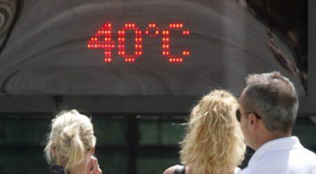 Στους 40 βαθμούς ανέβηκε ο υδράργυρος-Μικρή υποχώρηση την Τρίτη