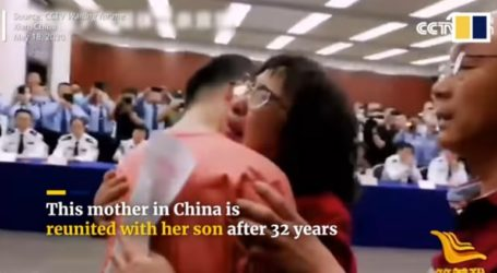 Βρήκαν το γιο τους που είχε απαχθεί πριν από 32 χρόνια