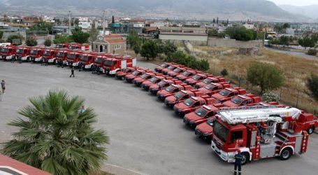 Η Περιφέρεια Αττικής ενισχύει με 35 οχήματα τον στόλο της Πυροσβεστικής Υπηρεσίας