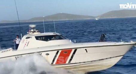 Επικίνδυνοι ελιγμοί στην Παναγιά εντός των ελληνικών χωρικών υδάτων