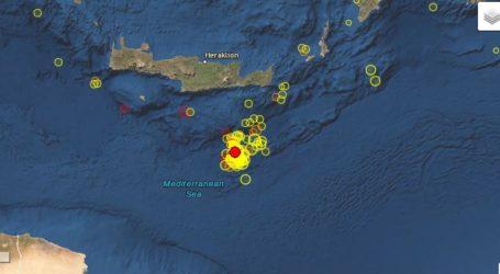 Σεισμός 4,3 Ρίχτερ νοτίως της Κρήτης