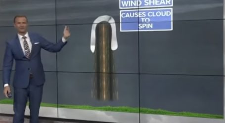 Το περίεργο σύννεφο-πέταλο στον Κρητικό ουρανό και η εξήγησή του