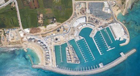 Παραδόθηκε η πρώτη φάση της ανάπτυξης της Μαρίνας Αγίας Νάπας στην Κύπρο