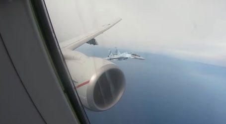 Ρωσικά μαχητικά αναχαίτισαν αμερικανικό αεροσκάφος πάνω από την ανατολική Μεσόγειο