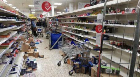 Το lockdown οδήγησε στην ταχύτερη αύξηση των πωλήσεων στα σούπερ μάρκετ από το 1994