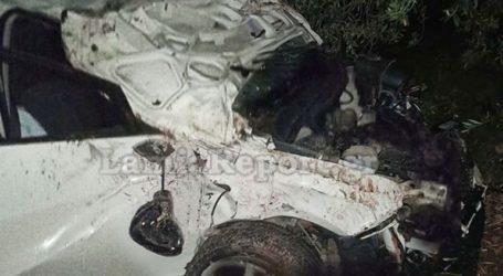 Τροχαίο ατύχημα με ανατροπή ΙΧ στη Στυλίδα