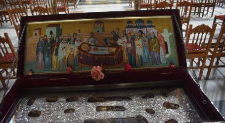Δείτε φωτογραφίες: Για προσκύνημα από σήμερα στη Λάρισα η λάρνακα των λειψάνων του Αγίου Αχιλλίου