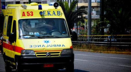 Τροχαίο ατύχημα στον Βόλο – Τραυματίας νεαρός δικυκλιστής