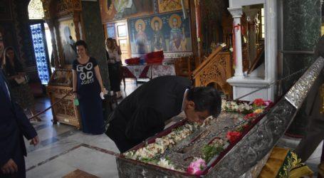 Λάρισα: Πανηγυρική δοξολογία στον Άγιο Αχίλλιο με πλήθος επισήμων και τις απαραίτητες αποστάσεις – Δείτε φωτογραφίες