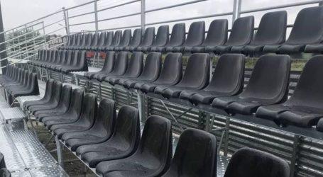 Εγκατάσταση νέων κερκίδων ύψους 20.000 ευρώ στο γήπεδο Στεφανοβικείου